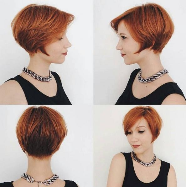 Adorable Pixie Haircut Ideas With Bangs – Popular Haircuts With 2017 Line Pixie Haircuts (View 8 of 20)