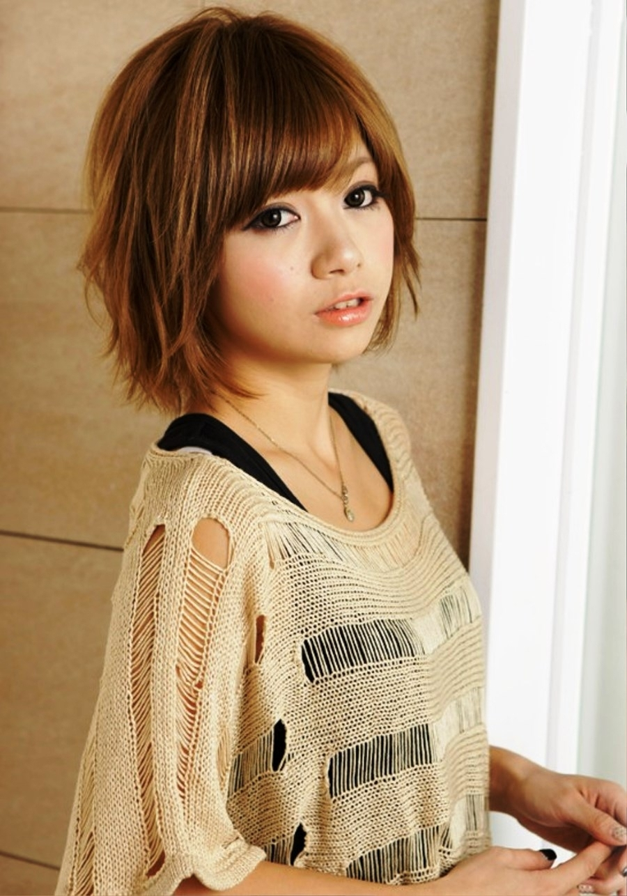 Asian Shaggy Hairstyles Emo And Harajuku Is A Most Model Of In Newest Japanese Shaggy Hairstyles (View 4 of 15)
