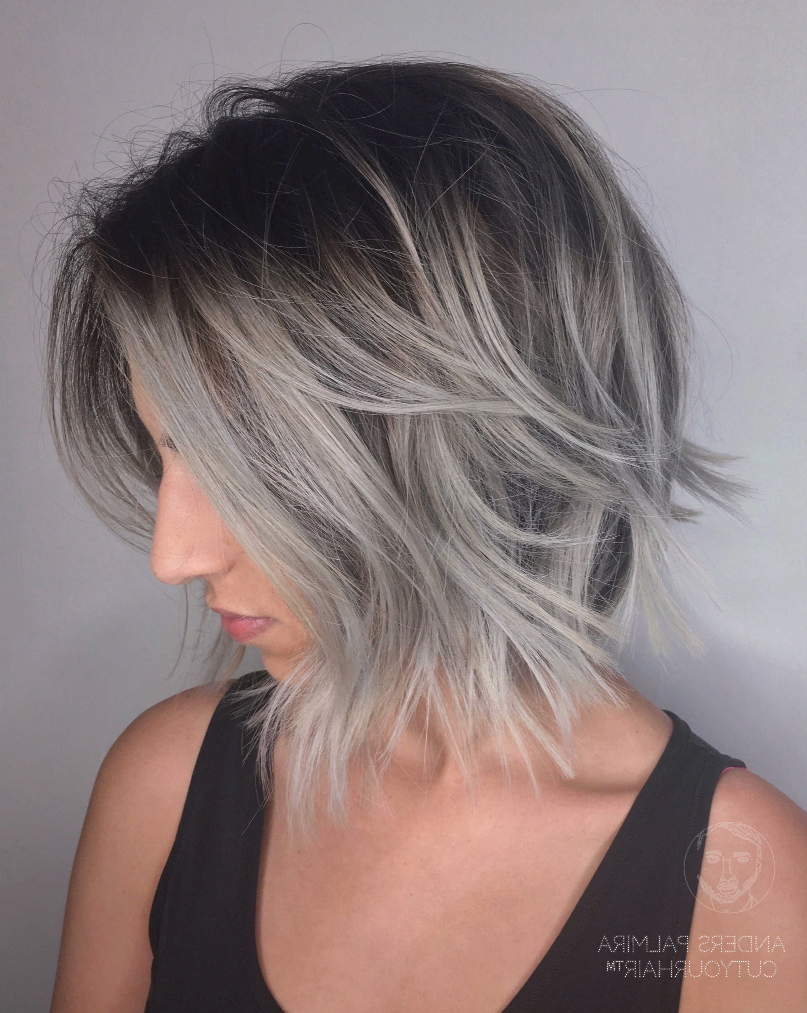 Aveda Wavy Long Blonde Bob Short Hair Beach Wave Medium Ideas Lob Within Most Recently Released Short Shaggy Gray Hairstyles (View 2 of 15)