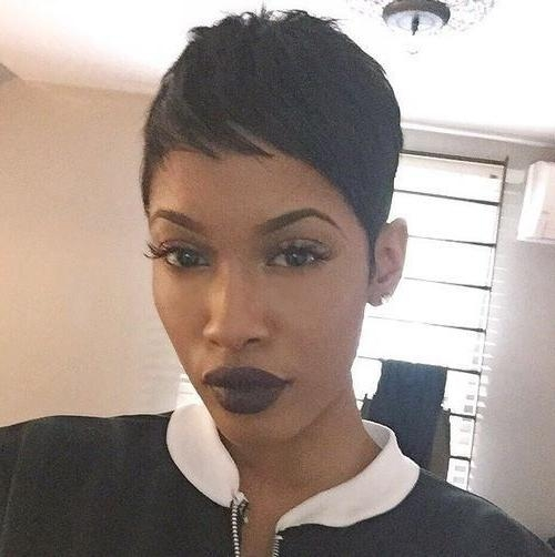 Best 25+ Black Pixie Haircut Ideas On Pinterest (View 9 of 20)