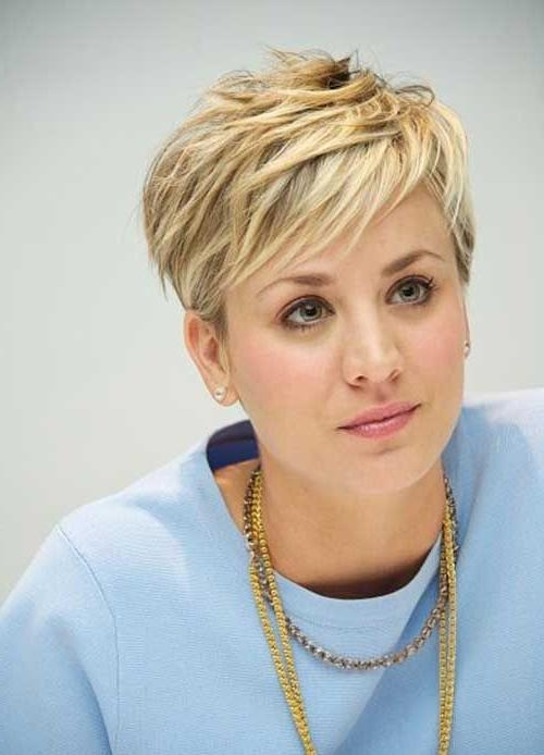 Best 25+ Blonde Pixie Hair Ideas On Pinterest (View 1 of 20)