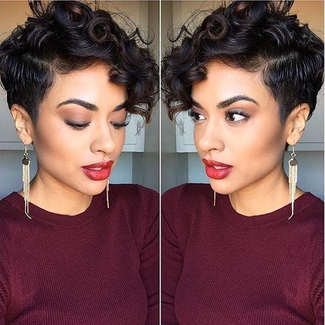Best 25+ Curly Pixie Hairstyles Ideas On Pinterest (View 7 of 20)