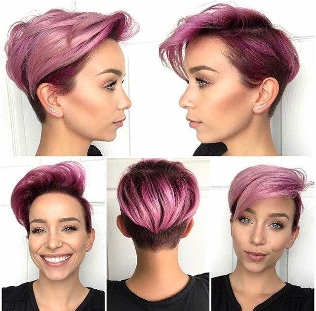 Best 25+ Pink Short Hair Ideas On Pinterest (Gallery 12 of 20)