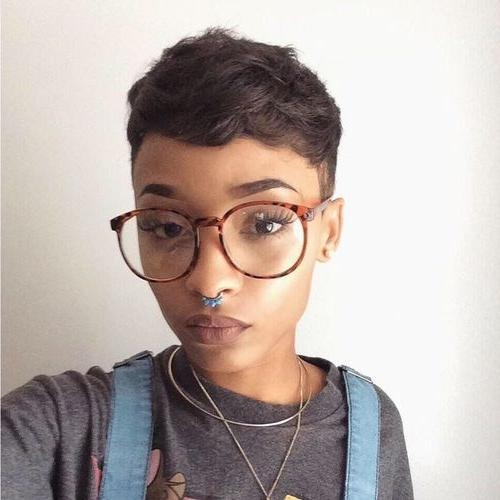Best 25+ Pixie Cut Black Girl Ideas On Pinterest (View 9 of 20)