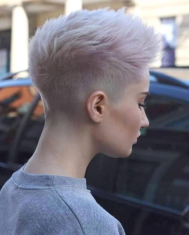 Best 25+ Shaved Pixie Ideas On Pinterest (View 7 of 20)