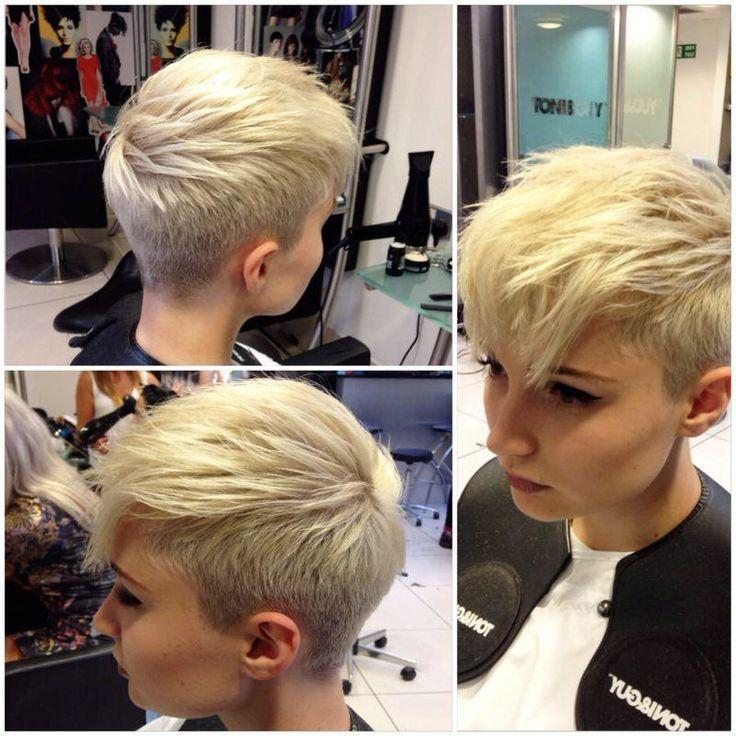 Best 25+ Shaved Sides Pixie Ideas On Pinterest (View 6 of 20)