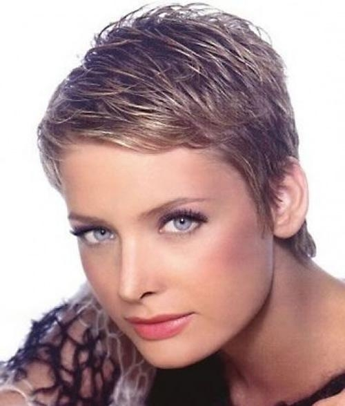 Best And Newest Feathered Pixie Haircuts With Regard To Short Feathered Curly Hairstyles Very Short Pixie Haircuts – Best (View 10 of 20)