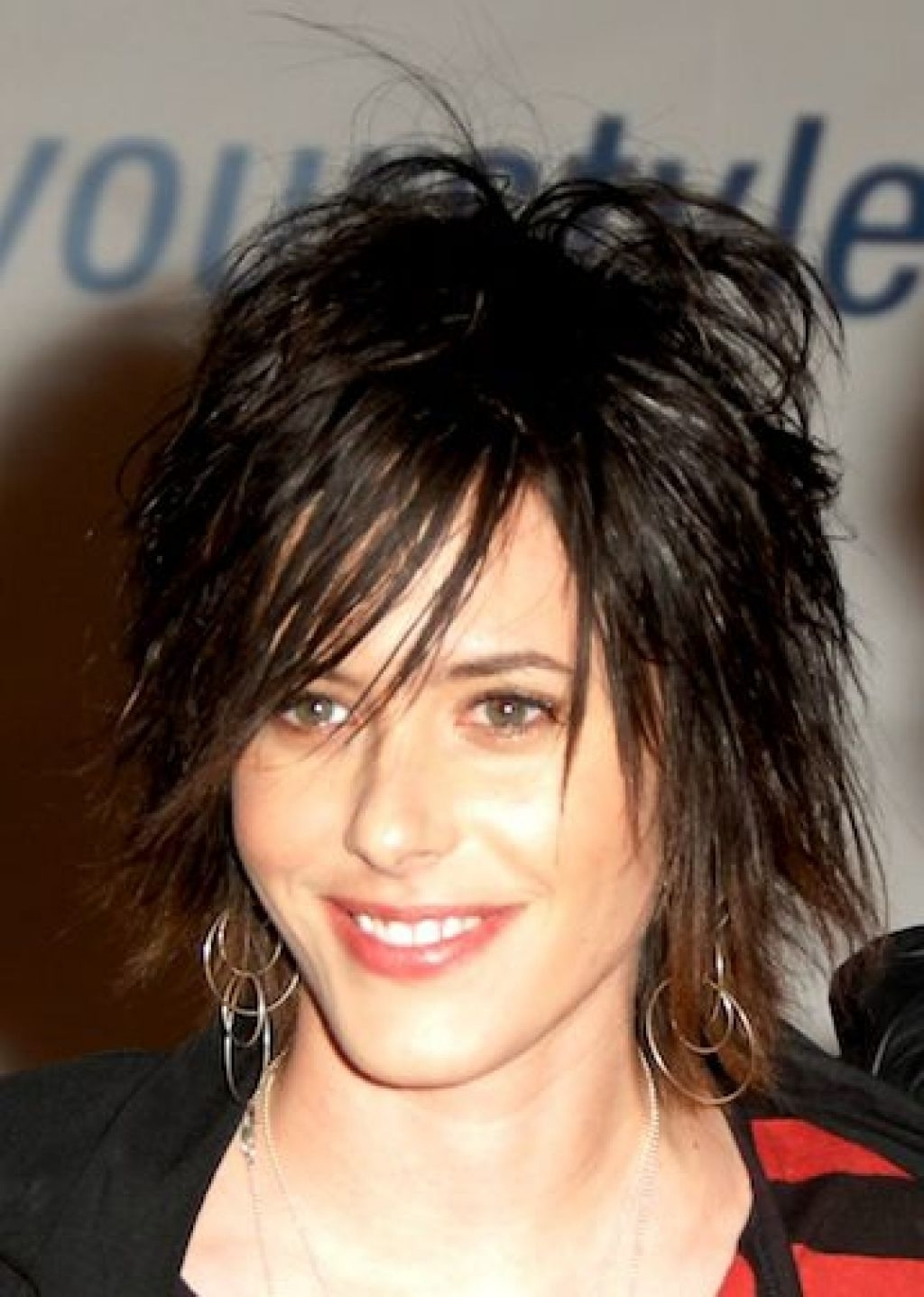 Best Medium Shaggy Haircuts Ideas On Pinterest Bob Shag For Easy Pertaining To Widely Used Short Shaggy Hairstyles With Bangs (View 12 of 15)