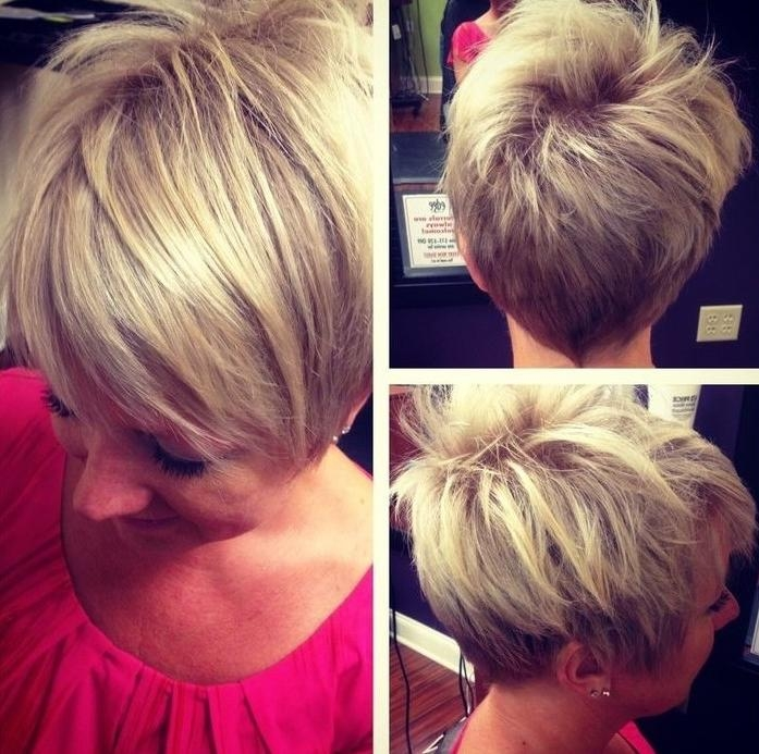 Best Pixie Hairstyles Ideas 2016 – Women Hair Styles Keep On With Best And Newest Side And Back View Of Pixie Haircuts (View 10 of 20)
