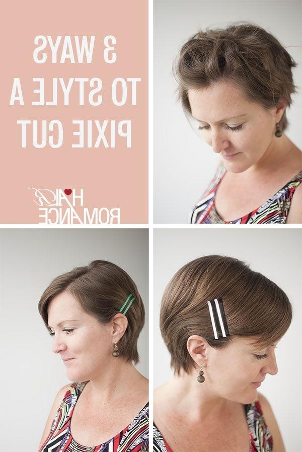 Braids, Pixie For Newest Pixie Haircuts Accessories (View 6 of 20)