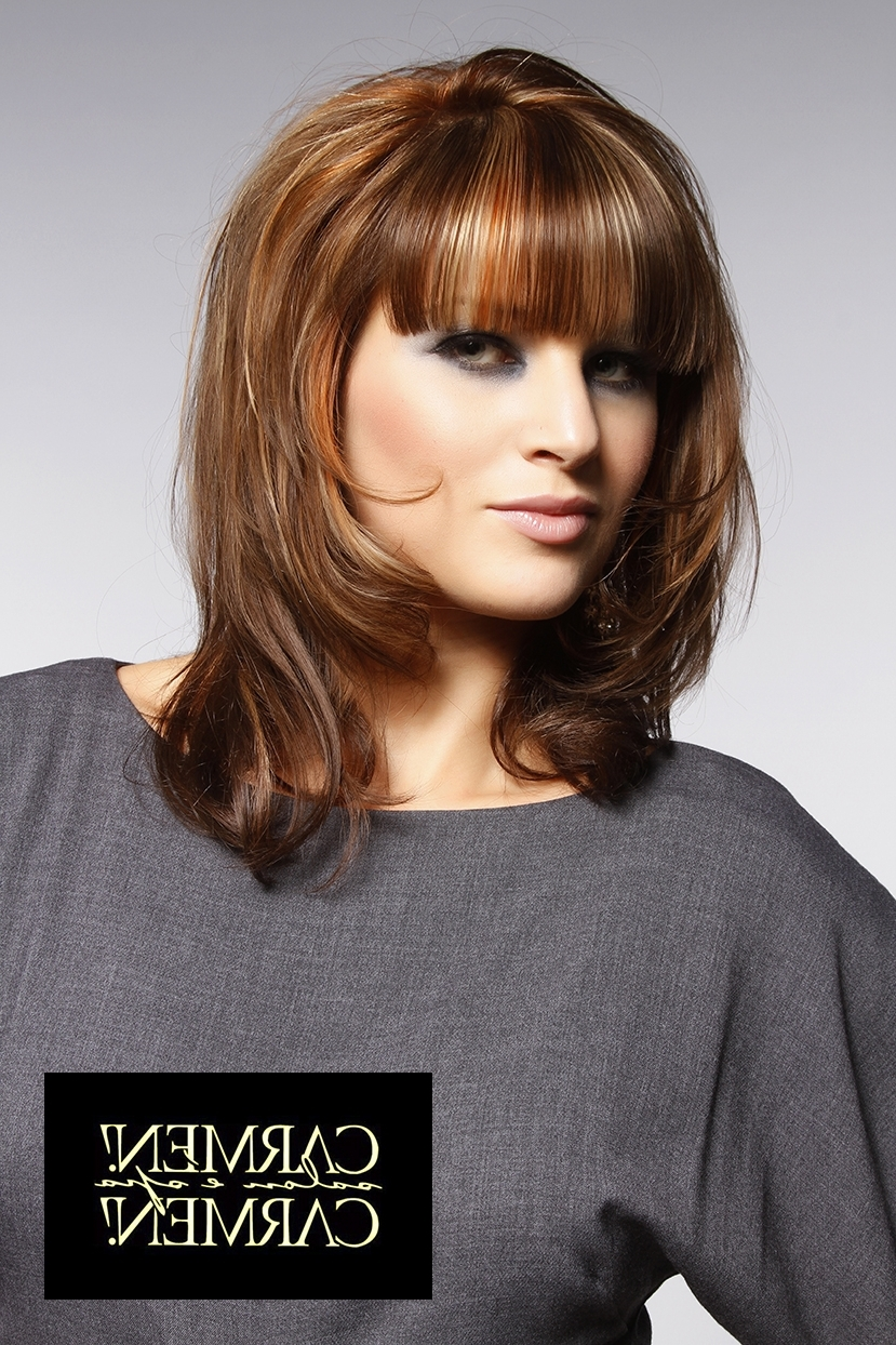 Carmen Carmen Salon, Hair, Hair Color, Hair Style, Beautiful, Long With Most Recent Salon Shaggy Hairstyles (View 4 of 15)