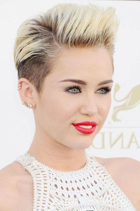 Celebrity Pixie Haircuts For (View 14 of 20)