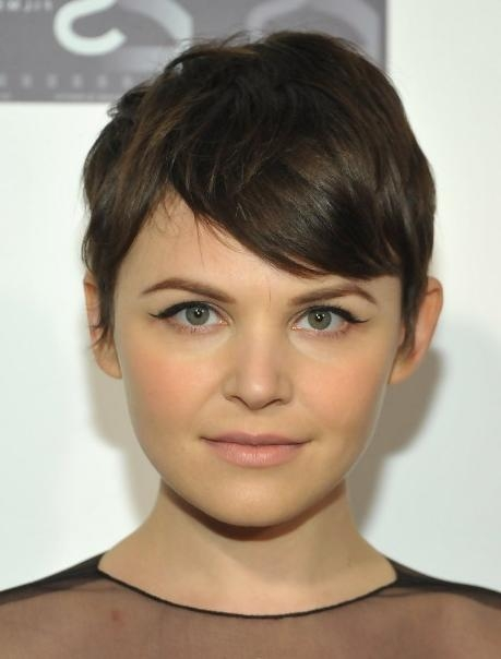Chic Short Pixie Haircut With Bangs For Girls – Ginnifer Goodwin Throughout Widely Used Girls Pixie Haircuts (View 9 of 20)
