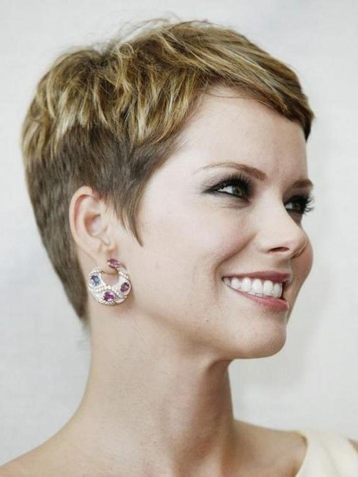 Classic Pixie Cut – Great For Mature Women Over 30 – Hairstyles Weekly Intended For Widely Used Classic Pixie Haircuts (View 8 of 20)