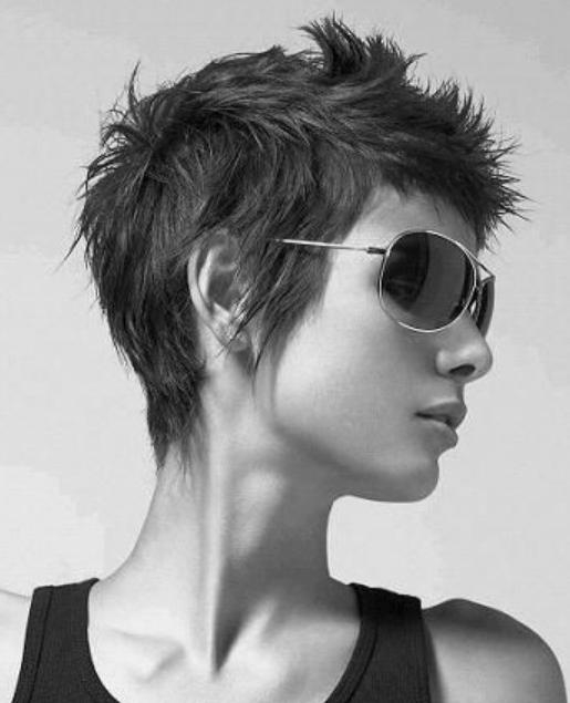 Cool Short Pixie Haircut For 2014 – Side View Of Pixie Cut Pertaining To Preferred Cool Pixie Haircuts (View 6 of 20)