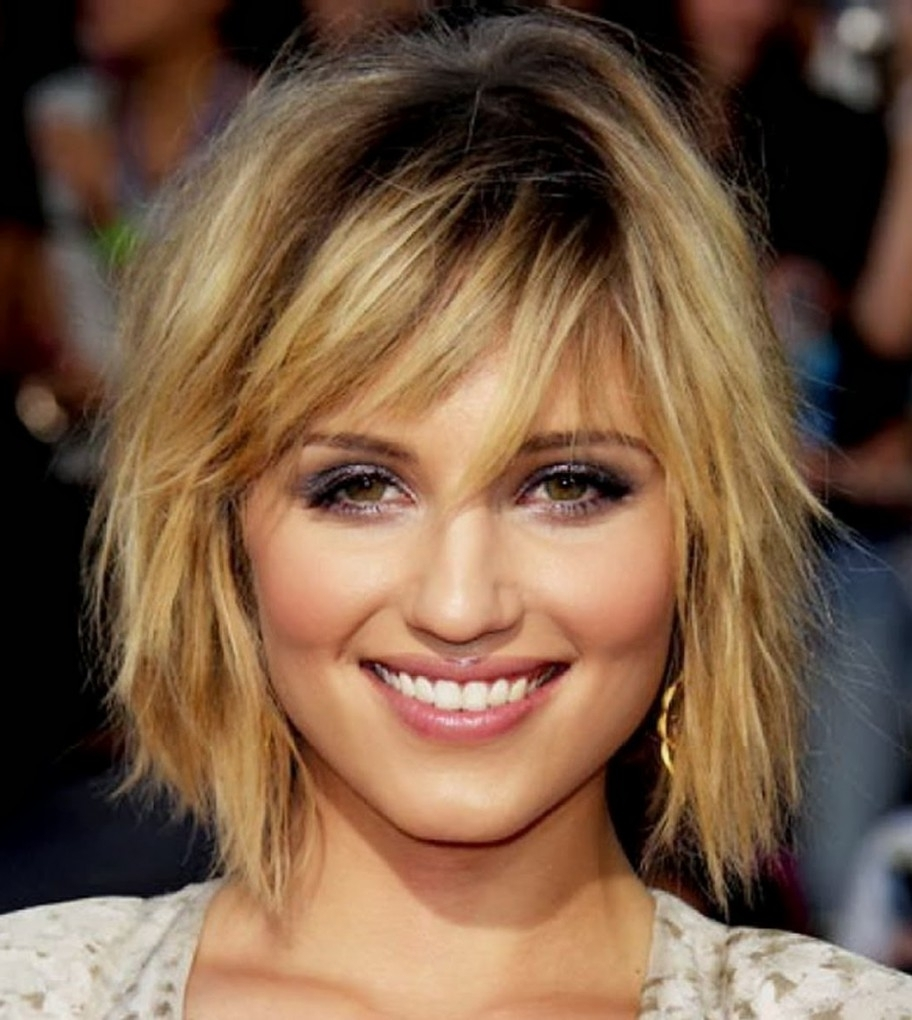 Curly Hairstyles With Bangs Short Shaggy Hairstyles For Women This Regarding 2018 Short Shaggy Hairstyles With Bangs (View 10 of 15)