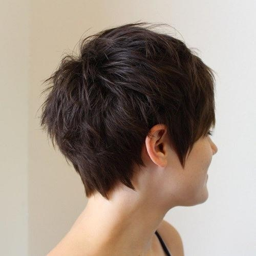 Current Choppy Pixie Haircuts With 25 Ideas For Short Choppy Haircuts – Hairiz (View 8 of 20)