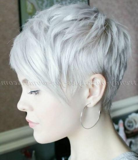 Current Cropped Pixie Haircuts With 50 Trendsetting Short And Long Pixie Haircut Styles — Cutest Of (View 5 of 20)