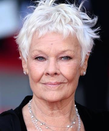 Current Judi Dench Pixie Haircuts In Judi Dench, How To Flaunt Gray Hair Like A Celebrity – (Page 10) (View 7 of 20)