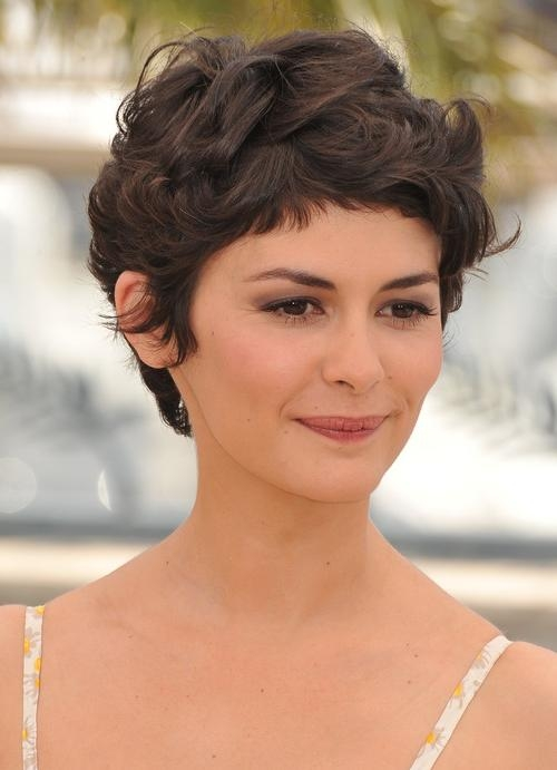 Current Long Pixie Haircuts For Curly Hair Within Modern Pixie Haircuts For Spring  (View 9 of 20)
