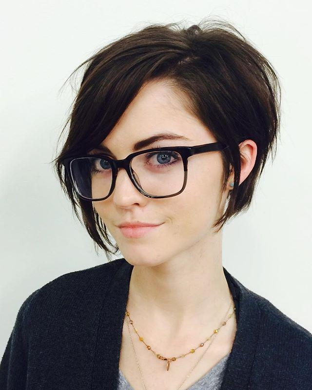 Current Longish Pixie Haircuts For The 25+ Best Long Pixie Cuts Ideas On Pinterest (View 8 of 20)