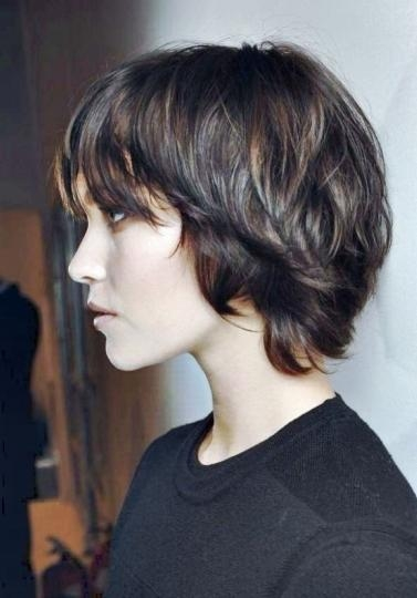Current Longish Pixie Haircuts Intended For Long Pixie Haircuts – Short Hairstyles Cuts (View 9 of 20)