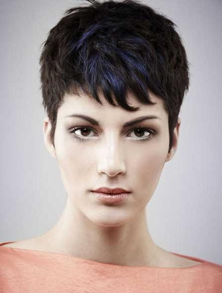 Current Pixie Haircuts For Women With Thick Hair Intended For Photos Of Pixie Haircuts For Women (View 9 of 20)