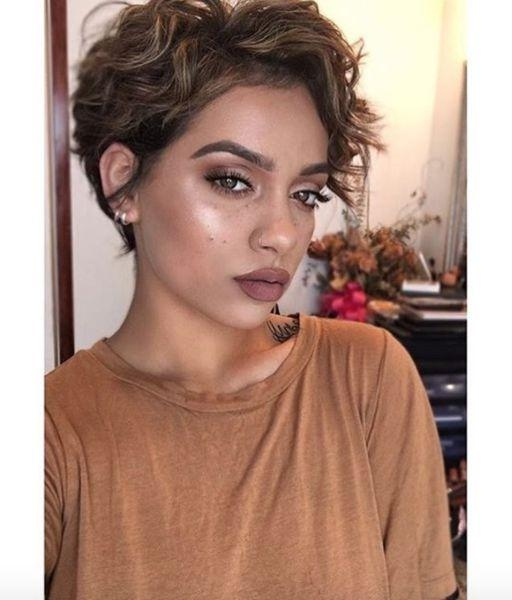 Featured Photo of Short Pixie Haircuts For Wavy Hair