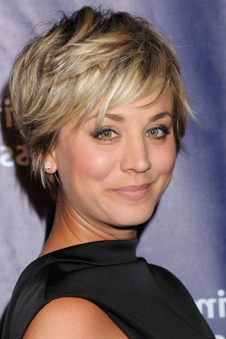 Featured Photo of Short Shaggy Hairstyles For Round Faces