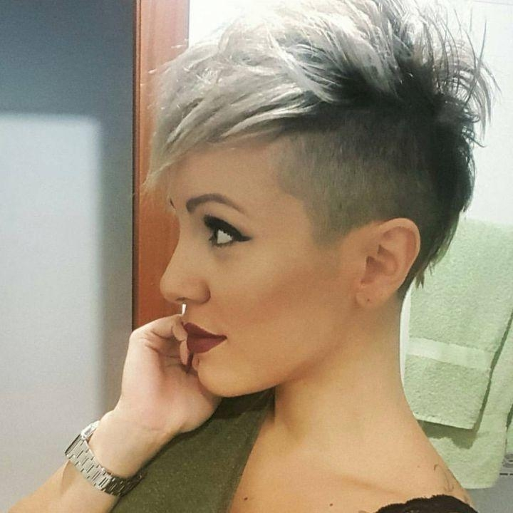 Cute Hair Cuts Short For Latest Funky Short Pixie Haircuts (View 6 of 20)