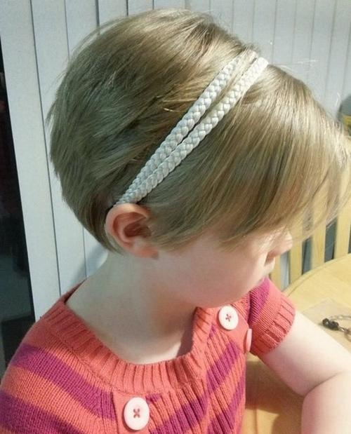 Cute Little Girl Short Pixie Hairstyles (View 8 of 20)