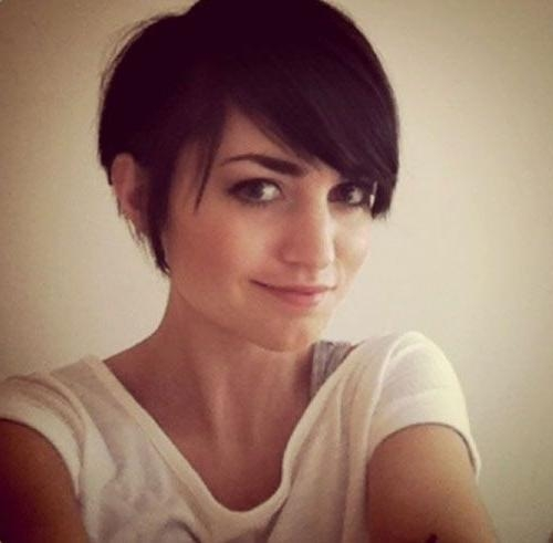 Cute Pixie Cuts Throughout Trendy Fringe Pixie Haircuts (View 6 of 20)