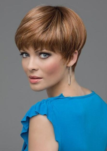 Cute Straight Pixie Cuts: Short Hair For Women – Popular Haircuts In Most Popular Short Straight Pixie Haircuts (View 7 of 20)