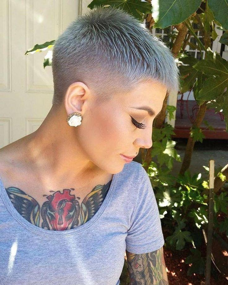 Daring Shaved Pixie Hairstyles For 2018 – New Hairstyles 2017 For With Regard To Most Up To Date Buzzed Pixie Haircuts (View 9 of 20)