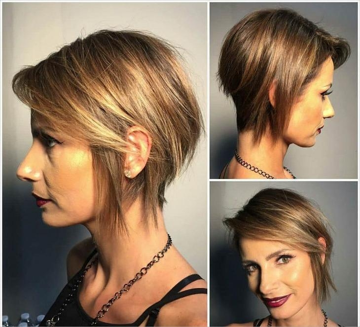 Design Throughout Most Recent Bob To Pixie Haircuts (View 8 of 20)