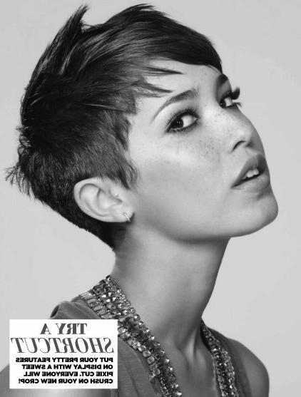 Edgy Short Hair: Pixie Haircuts – Popular Haircuts For Most Current Short Edgy Pixie Haircuts (Gallery 6 of 20)
