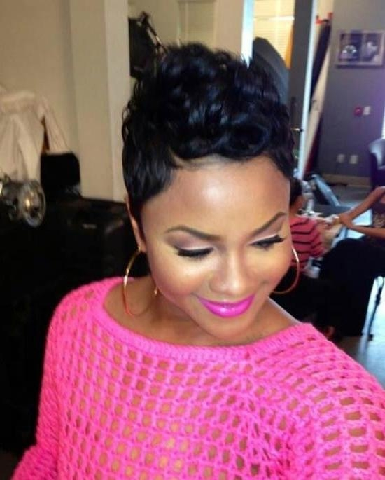 Famous Black Women Pixie Haircuts Regarding 15 Amazing Pixie Haircuts For Black Women (View 11 of 20)