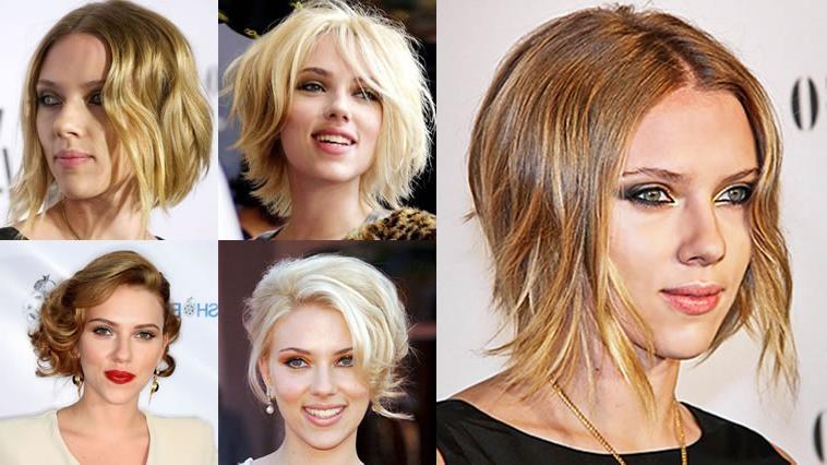 Famous Bob Pixie Haircuts For Scarlett Johansson's Hairstyles 2018 & Bob+Pixie Haircuts For (View 5 of 20)