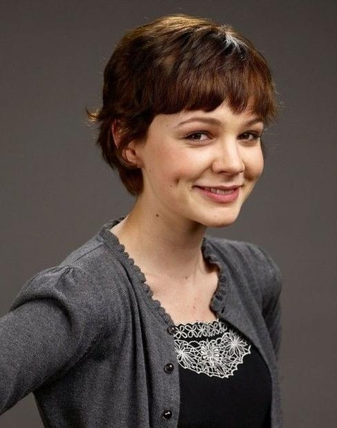 Famous Fringe Pixie Haircuts Intended For Pixie Haircut With Bangs – Popular Haircuts (View 7 of 20)