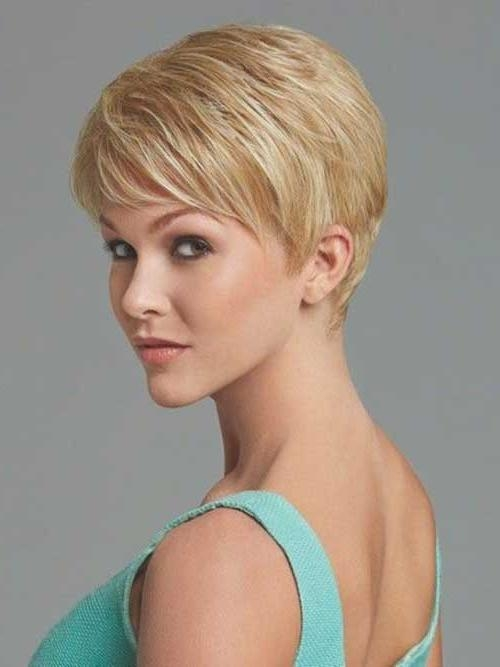 Famous Layered Pixie Haircuts For 10 Cute Short Haircuts For Thin Hair (View 5 of 20)
