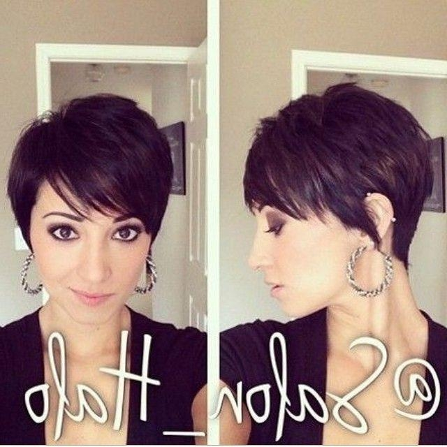 Photo Gallery of Medium Short Pixie Haircuts (Viewing 7 of 20 Photos)