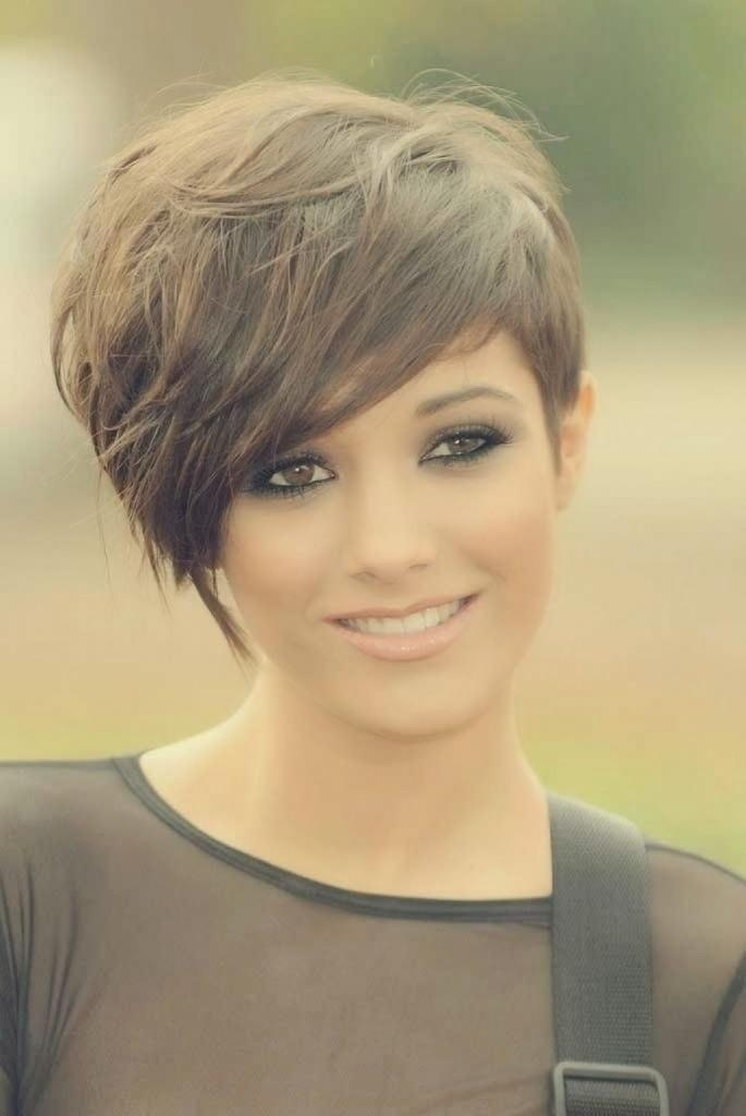 Famous Pixie Haircuts For Girls With Regard To Cute Long Pixie Haircuts – Popular Long Hairstyle Idea (View 6 of 20)