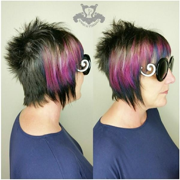 Famous Punk Rock Pixie Haircuts Intended For Joico Intensities Metallic Muse ? Punk Rock Pixie Haircut (View 7 of 20)