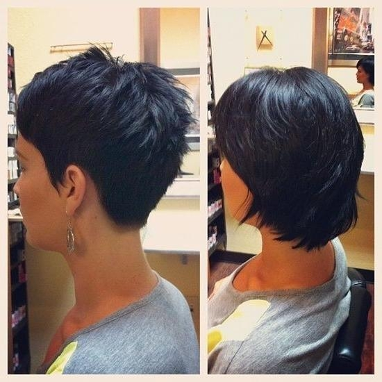 Fashionable Back View Of Pixie Haircuts Intended For 15 Chic Pixie Haircuts: Which One Suits You Best? – Popular Haircuts (View 5 of 20)