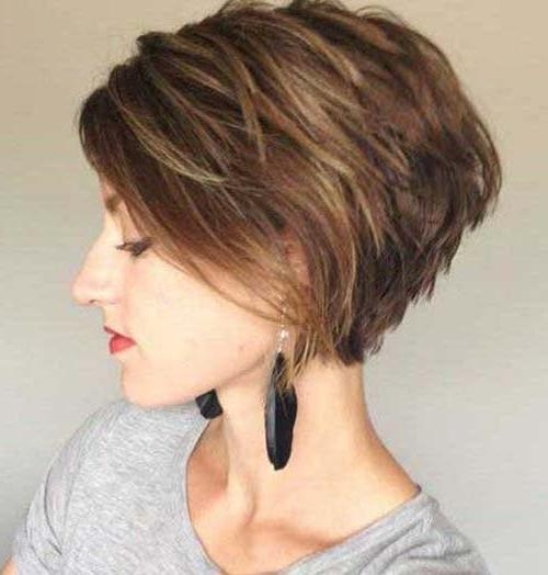 Fashionable Bob To Pixie Haircuts Inside 20 Bold Asymmetrical Pixie Cuts (View 10 of 20)