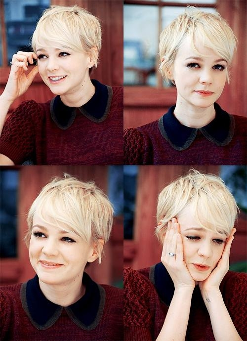 Fashionable Cute Pixie Haircuts For Round Faces In Best Pixie Hairstyles For Round Face 2013 – Fashion Trends Styles (View 9 of 20)