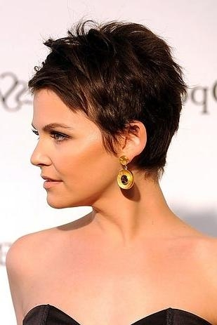 Fashionable Famous Pixie Haircuts Pertaining To Celebrity Pixie Haircuts : Trends For Girls & Womens (View 18 of 20)