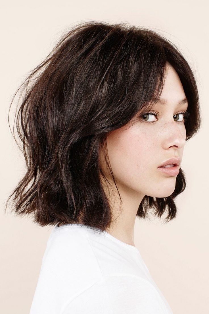 Fashionable Medium Shaggy Bob Hairstyles For Long Shaggy Bob Popular Shoulder Length Hairstyles Styletic (View 2 of 15)