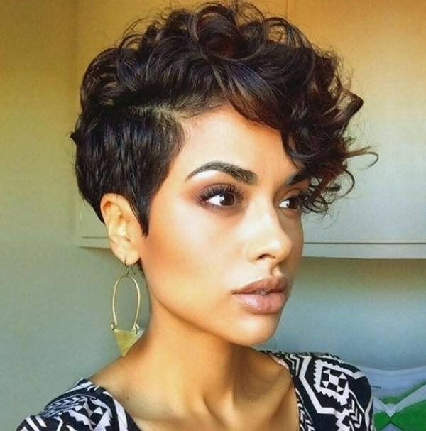 Fashionable Pixie Haircuts For Curly Hair With Elegant Curly Pixie For Current Your Head – My Salon (View 9 of 20)