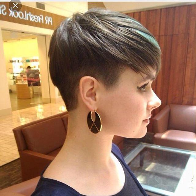 Fashionable Pixie Haircuts For Fine Thin Hair Throughout Short Pixie Haircut For Fine Thin Hair – Pretty Designs (View 8 of 20)